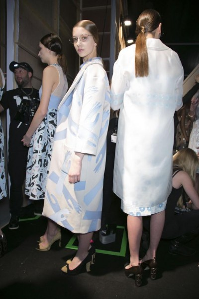 Holly Fulton, očala Cutler and Gross