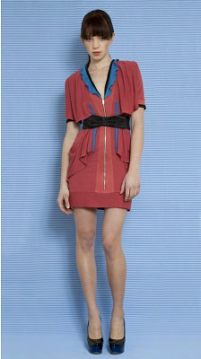 Maria Moderna Three Colour Dress
