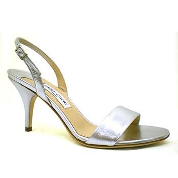 Srebrni sandali Jimmy Choo Alfie