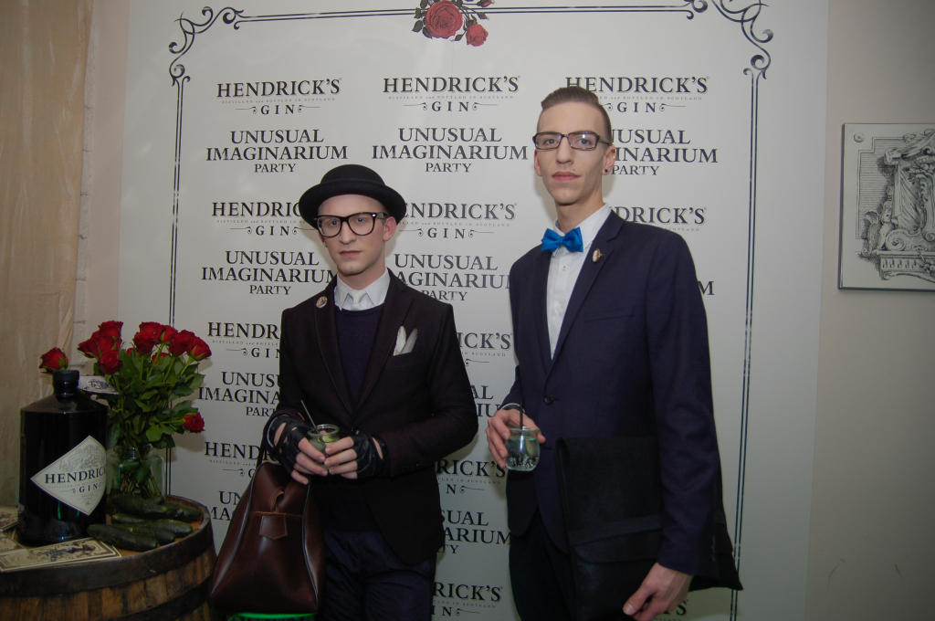 Fashionista Erik Maj Potočnik in Matjaž Plošinjak